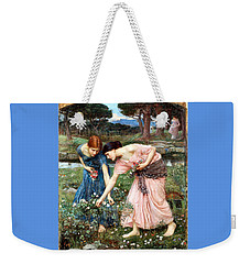 Gather Ye Rosebuds While Ye May Weekender Tote Bag