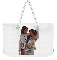 Gathered Tenderness Weekender Tote Bag