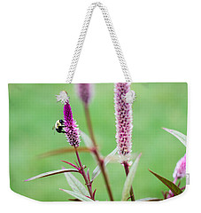 Weekender Tote Bag featuring the photograph Gathering For The Family by Steven Santamour