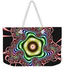 Weekender Tote Bag featuring the digital art Gatimmuffs by Andrew Kotlinski