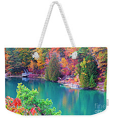 Gatineau Park Tour Weekender Tote Bag by Charline Xia