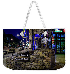 Gatlinburg Moonshine Samples Weekender Tote Bag