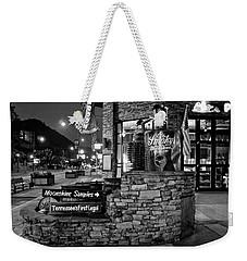 Gatlinburg Moonshine Samples In Black And White Weekender Tote Bag