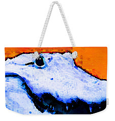 Gator Art - Swampy Weekender Tote Bag by Sharon Cummings