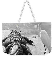 Gator Hand Weekender Tote Bag
