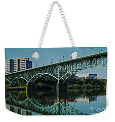 Weekender Tote Bag featuring the photograph Gay Street Bridge by Douglas Stucky