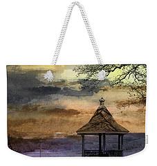 Gazebo And Lake  Weekender Tote Bag by R Kyllo