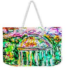Gazebo Sunset Weekender Tote Bag
