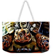 Gazing Turtle Weekender Tote Bag