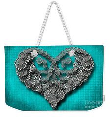 Gear Heart Weekender Tote Bag