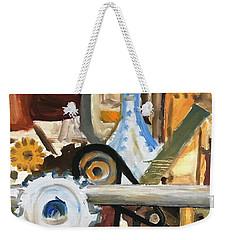 Gears In The Machine Weekender Tote Bag