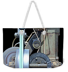 Weekender Tote Bag featuring the photograph Gears by Kristin Elmquist