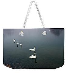 Geese In A Row Weekender Tote Bag