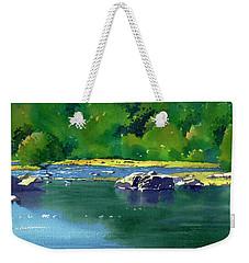 Geese On The Rappahannock Weekender Tote Bag
