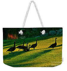 Geese The Perfect Pattern Weekender Tote Bag