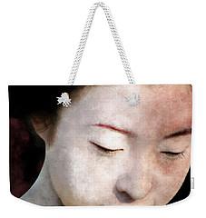 Geisha Girl Weekender Tote Bag by Pennie  McCracken