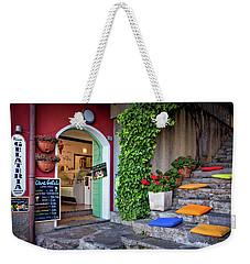 Gelato Shop Weekender Tote Bag