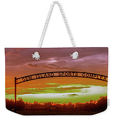 Gem Island Sports Complex Weekender Tote Bag