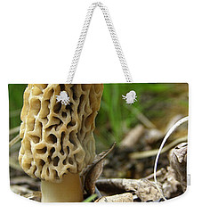 Gem Of The Forest - Morel Mushroom Weekender Tote Bag