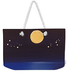 Gemini And Leo Weekender Tote Bag