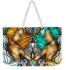 Gemini Weekender Tote Bag