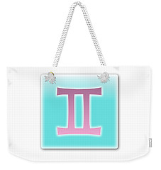 Gemini May 20 - June20 Weekender Tote Bag