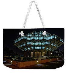 Gemstone In Concrete Weekender Tote Bag