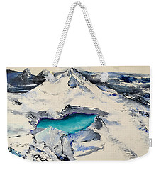 Gemstone Lake Weekender Tote Bag