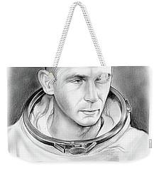 Astronaut Gene Cernan Weekender Tote Bag