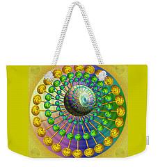 Weekender Tote Bag featuring the digital art Gene Pool by Vincent Autenrieb