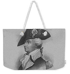 Weekender Tote Bag featuring the mixed media General Anthony Wayne by War Is Hell Store