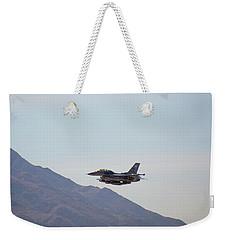 General Dynamics F-16 Wa 839 - Nellis Afb Weekender Tote Bag