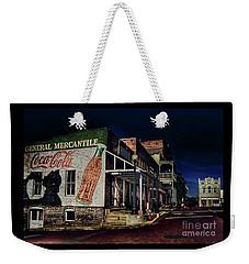 General Mercantile Weekender Tote Bag by Savannah Gibbs