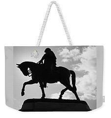 General P G T Beauregard Statue Weekender Tote Bag by Deborah Lacoste