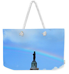 General Robert E. Lee Mounment In Retro Spectrum Weekender Tote Bag