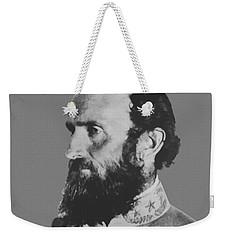 General Stonewall Jackson Profile Weekender Tote Bag