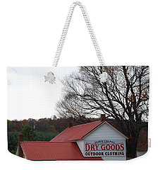 Weekender Tote Bag featuring the photograph General Store by Eric Liller