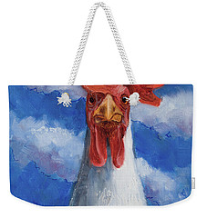 Weekender Tote Bag featuring the painting General Tso by Billie Colson