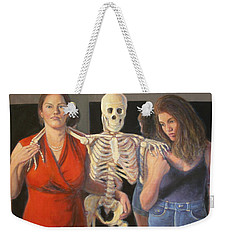 Weekender Tote Bag featuring the painting Generations #2 by Donelli  DiMaria