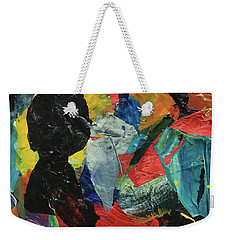 Weekender Tote Bag featuring the painting Generations by Mary Sullivan