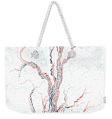 Genetic Branches Weekender Tote Bag by Regina Valluzzi
