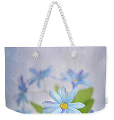 Gentle Blues Weekender Tote Bag