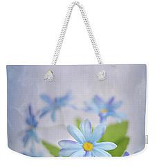 Gentle Blues Weekender Tote Bag