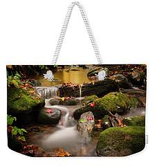 Gentle Cascades Of Autumn  Weekender Tote Bag