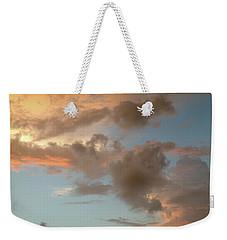 Gentle Clouds Gentle Light Weekender Tote Bag
