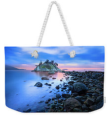 Weekender Tote Bag featuring the photograph Gentle Sunrise by John Poon