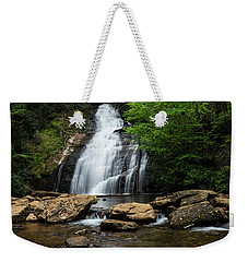 Gentle Waterfall North Georgia Mountains Weekender Tote Bag