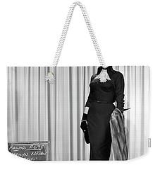 Weekender Tote Bag featuring the photograph Gentlemen Prefer Blondes Staring Marilyn Monroe by R Muirhead Art