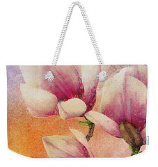 Gentleness Weekender Tote Bag by Klara Acel
