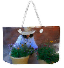 Gently Does It Weekender Tote Bag by Colleen Taylor